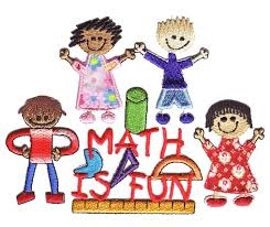 """Math Is Fun"" With cartoon characters around"